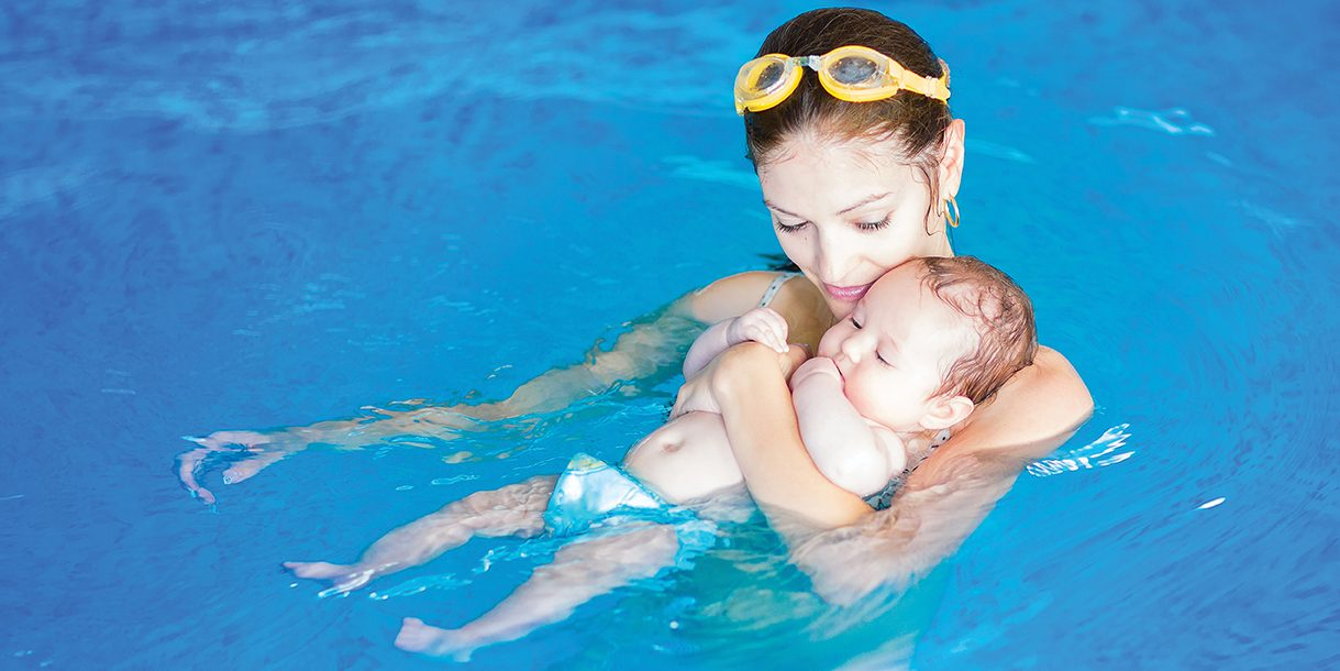 Babies and Toddler Swimming Lessons