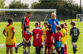 Coaching sessions at Prescot Soccer Centre