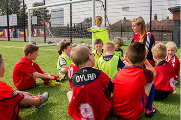 Kids Football coaching